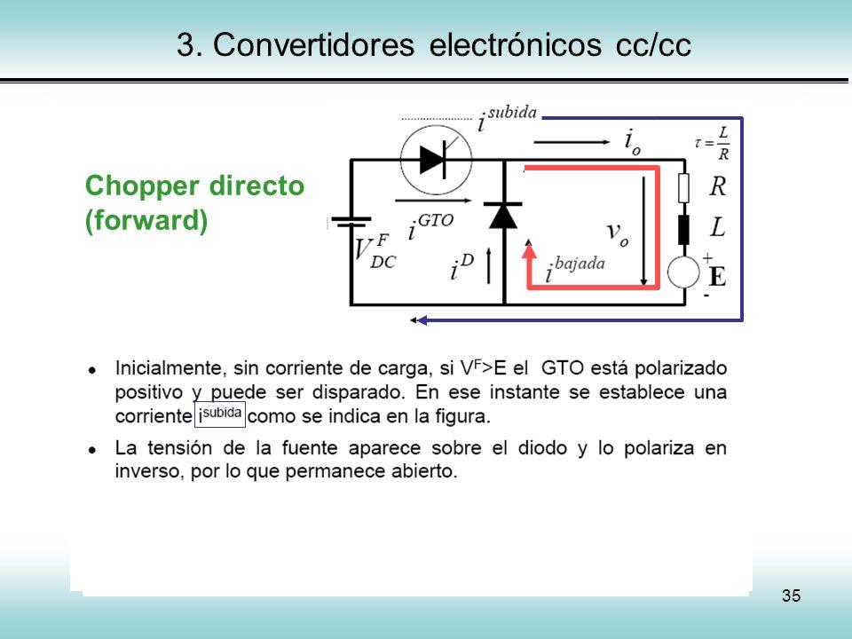 3. Convertidores electrónicos cc/cc