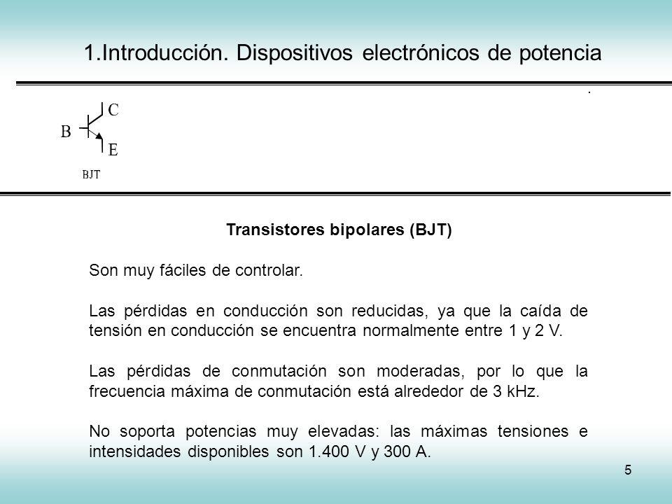 Transistores bipolares (BJT)