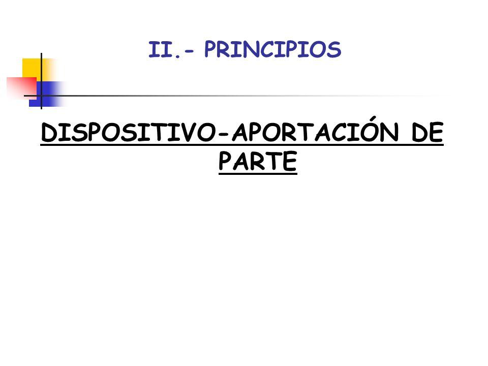 DISPOSITIVO-APORTACIÓN DE PARTE
