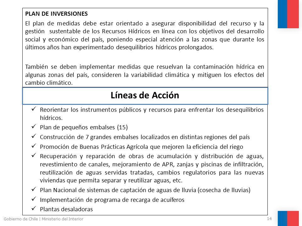 Pol ticas p blicas nacionales sobre la emergencia h drica for Ministerio del interior horario de atencion
