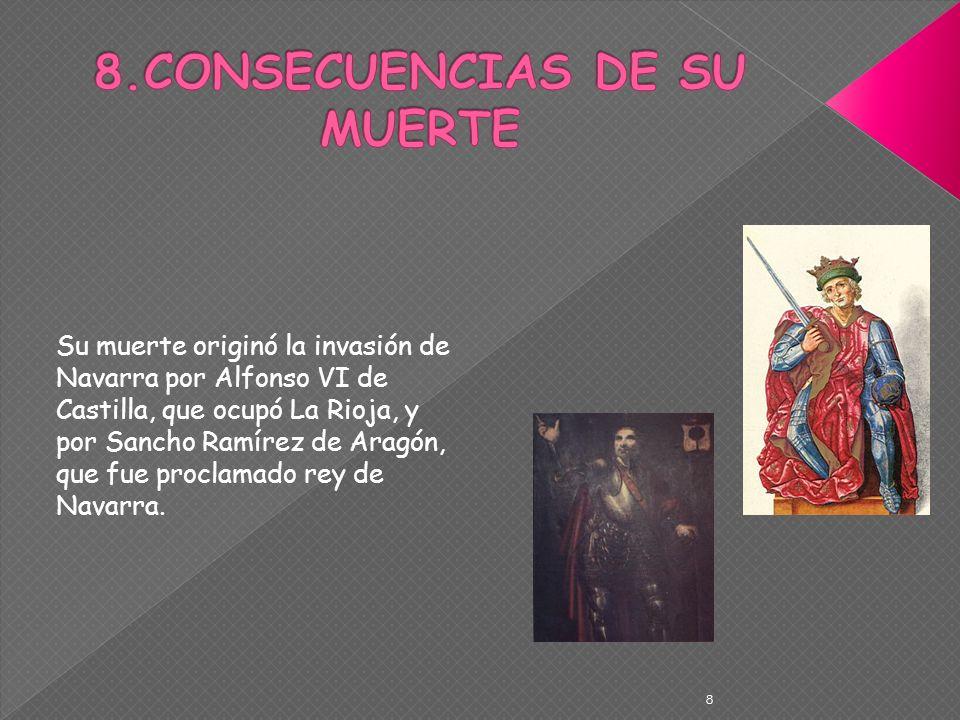 8.CONSECUENCIAS DE SU MUERTE
