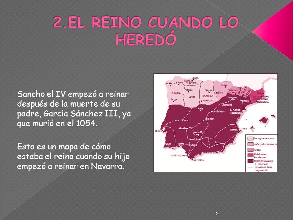 2.EL REINO CUANDO LO HEREDÓ