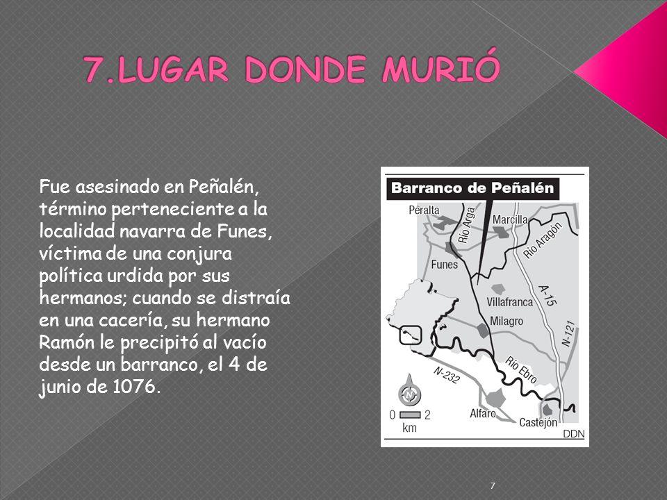 7.LUGAR DONDE MURIÓ
