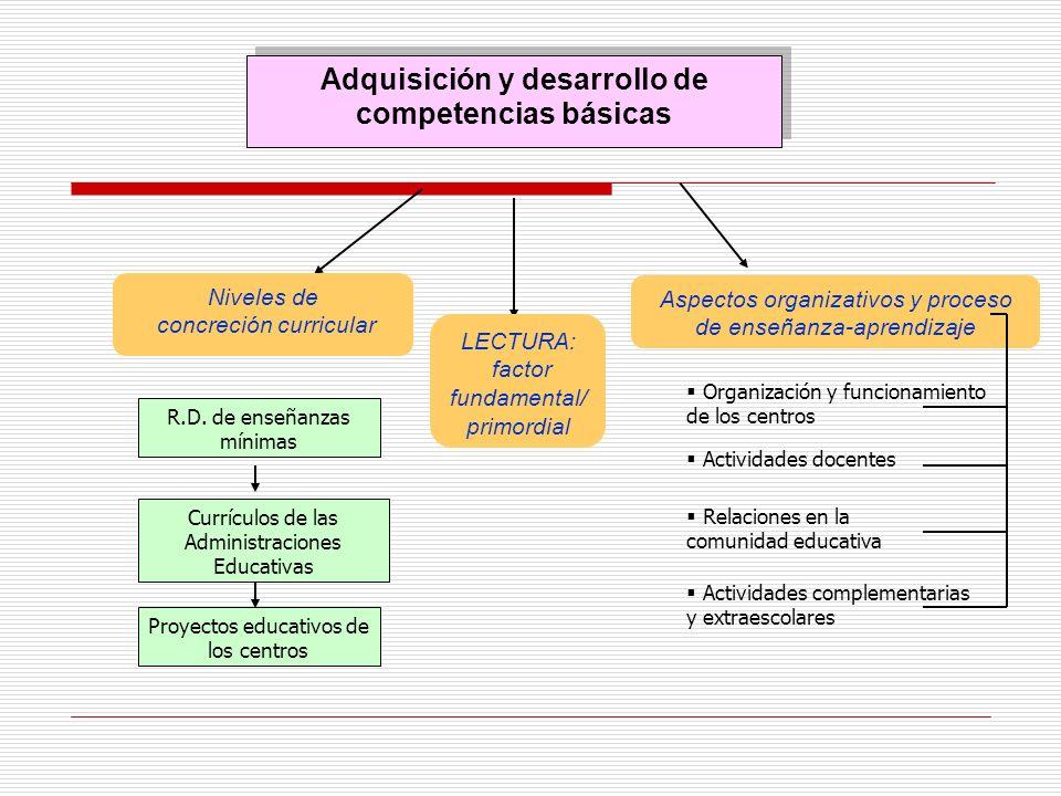 Adquisición y desarrollo de competencias básicas