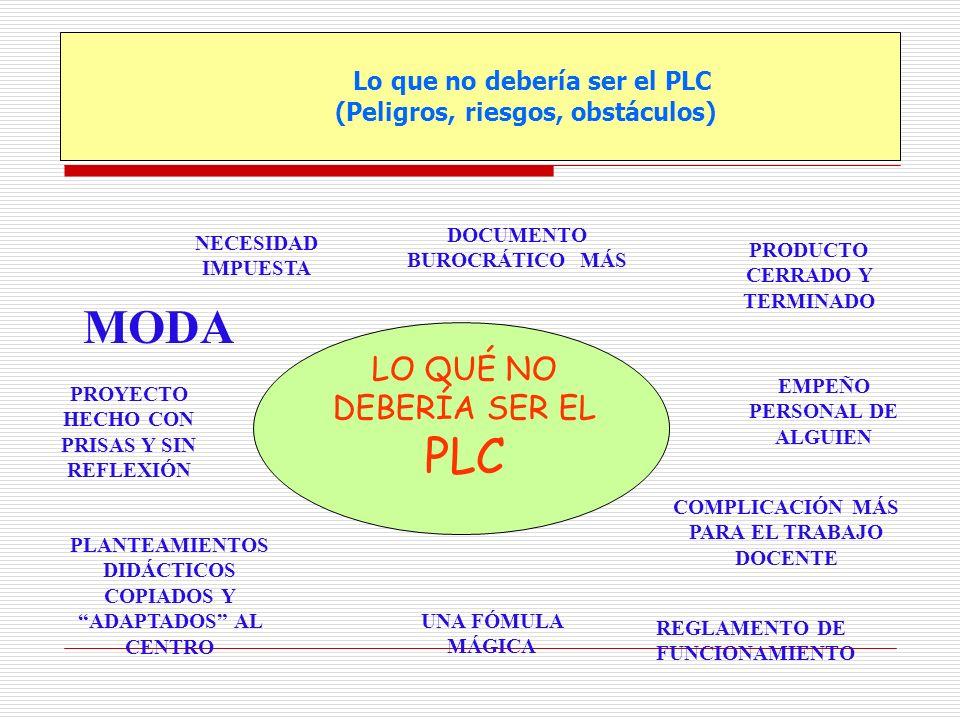 Lo que no debería ser el PLC (Peligros, riesgos, obstáculos)