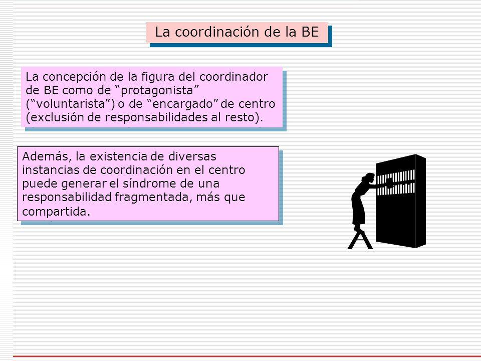 La coordinación de la BE