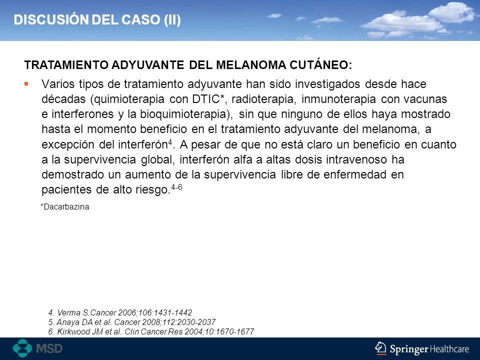 DISCUSIÓN DEL CASO (II)