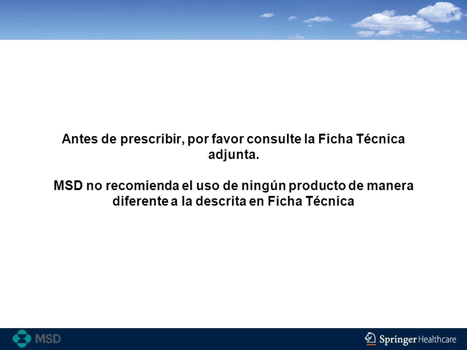 Antes de prescribir, por favor consulte la Ficha Técnica adjunta