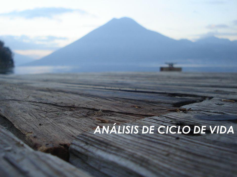 ANÁLISIS DE CICLO DE VIDA