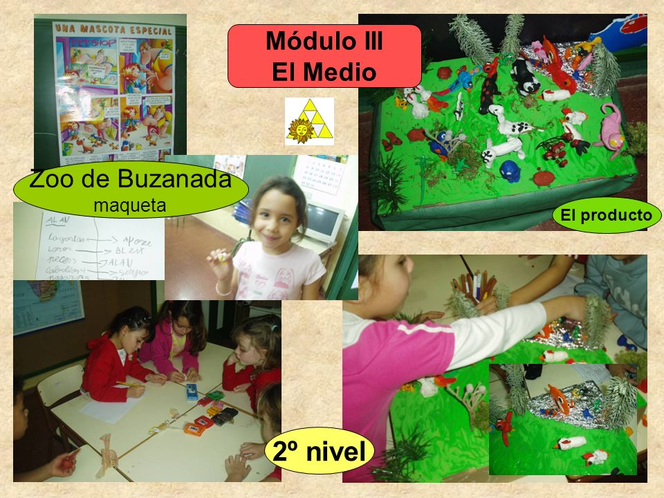 Módulo III El Medio Zoo de Buzanada maqueta El producto 2º nivel