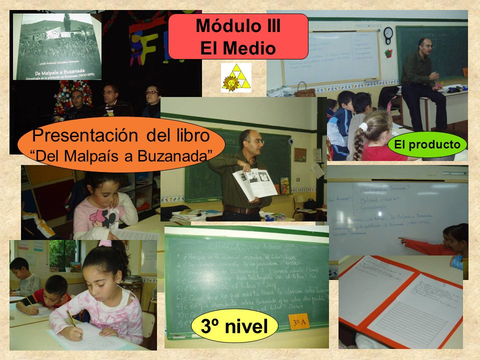3º nivel Módulo III El Medio Presentación del libro