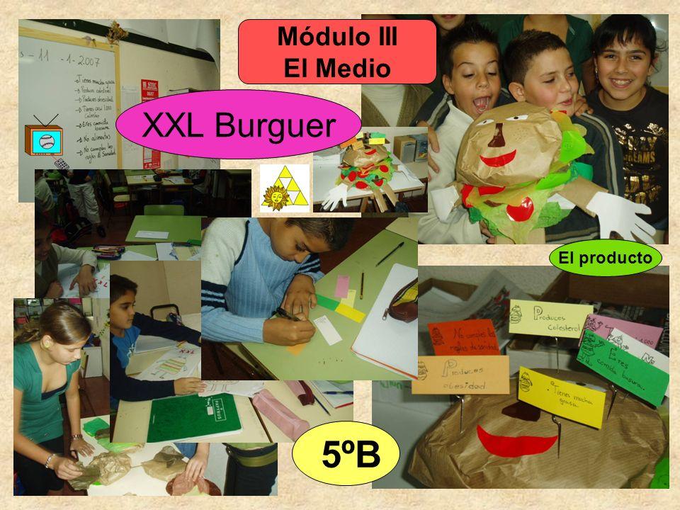 Módulo III El Medio XXL Burguer El producto 5ºB