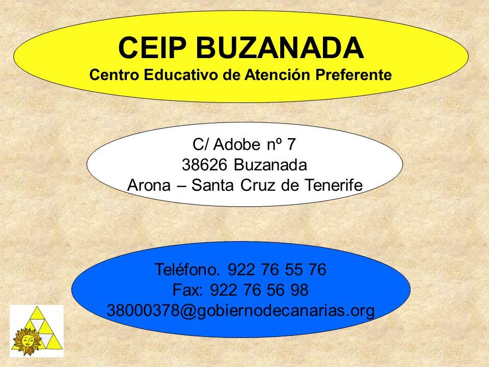 CEIP BUZANADA Centro Educativo de Atención Preferente