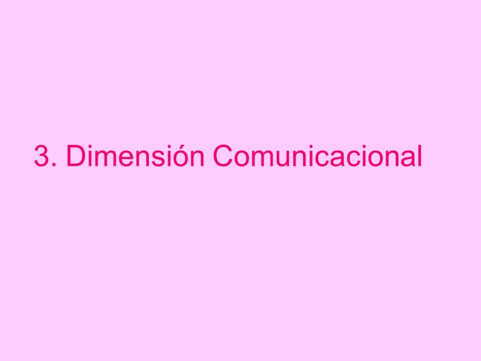 Dimensión Comunicacional