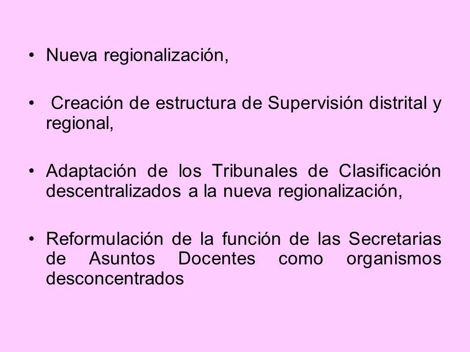 Nueva regionalización,