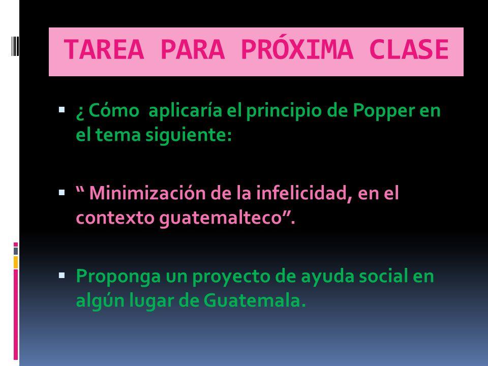 TAREA PARA PRÓXIMA CLASE