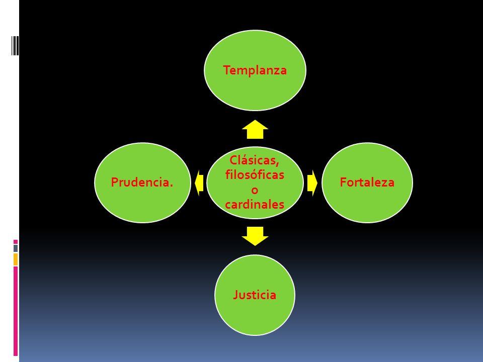Clásicas, filosóficas o cardinales