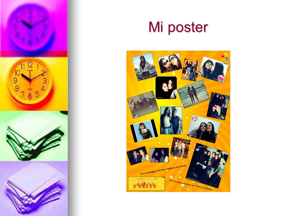 Mi poster