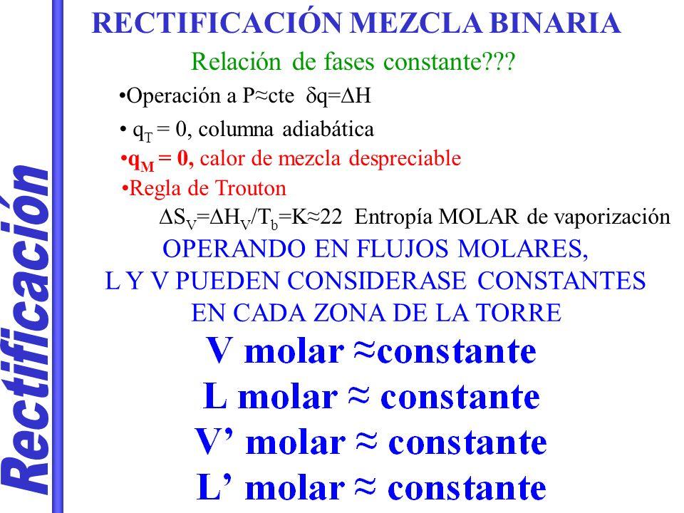 Rectificación RECTIFICACIÓN MEZCLA BINARIA