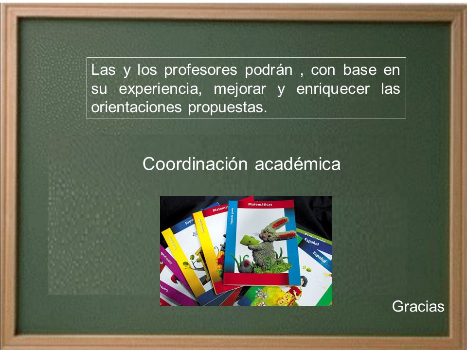 Coordinación académica