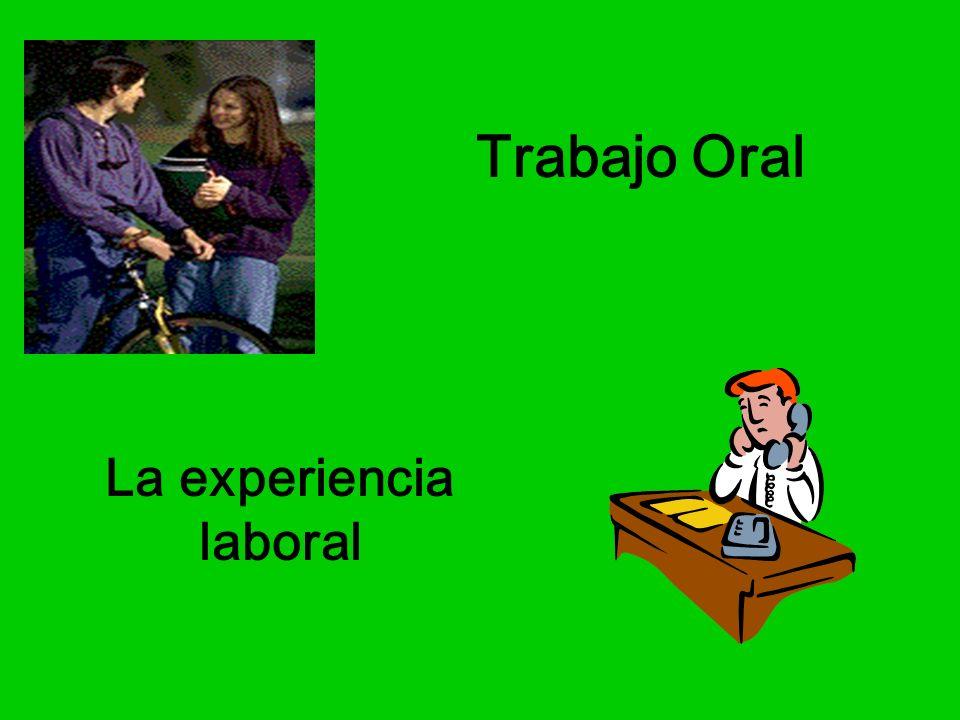 La experiencia laboral