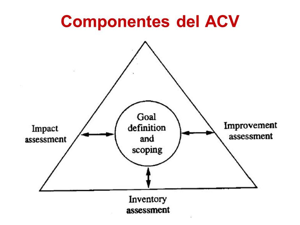 Componentes del ACV