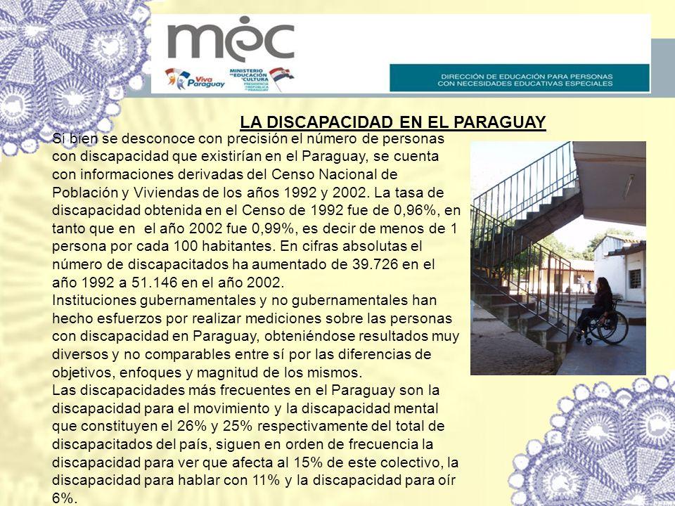LA DISCAPACIDAD EN EL PARAGUAY
