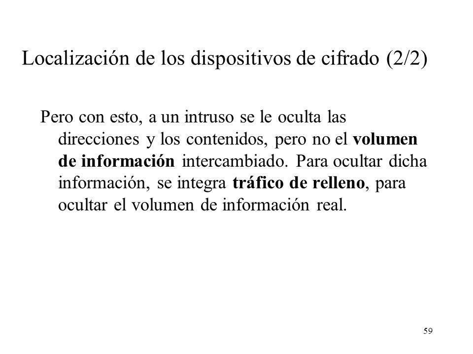 Localización de los dispositivos de cifrado (2/2)