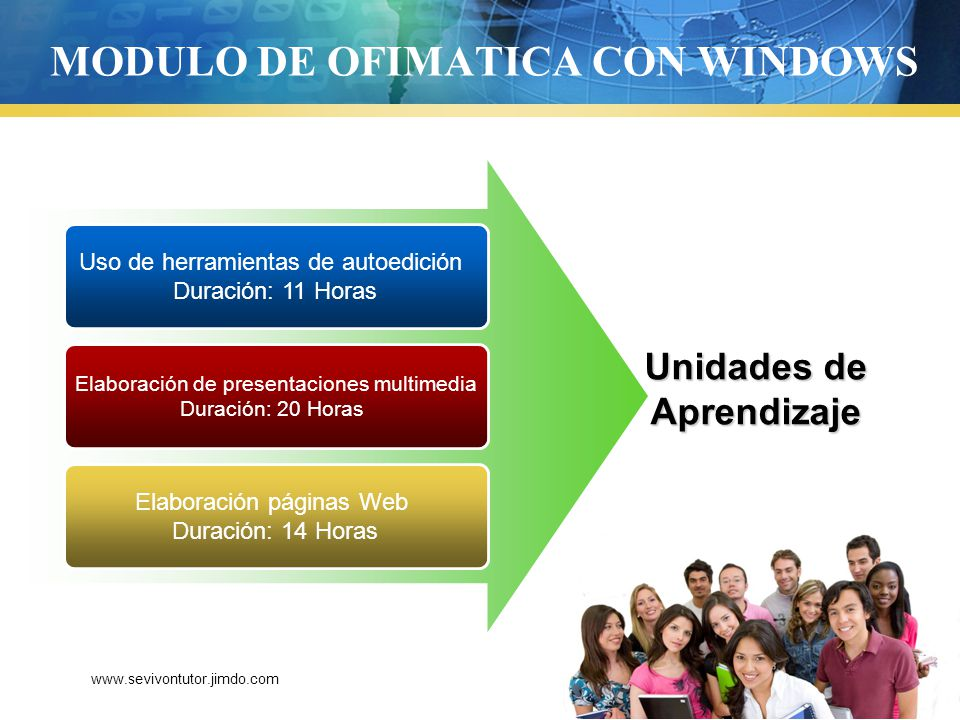 MODULO DE OFIMATICA CON WINDOWS