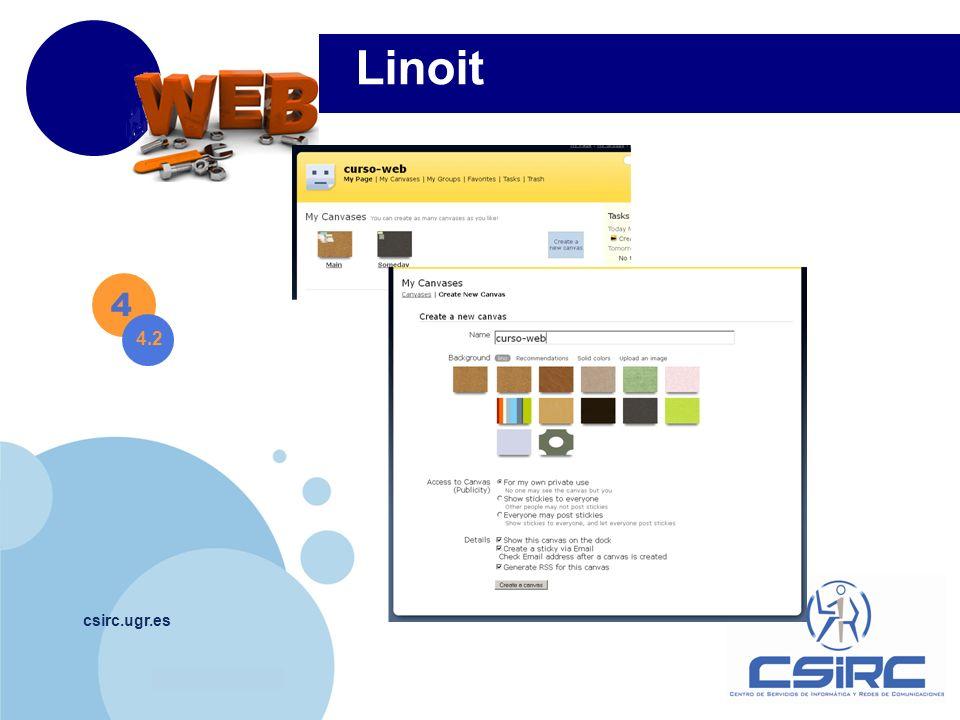 Linoit 4 4.2 csirc.ugr.es