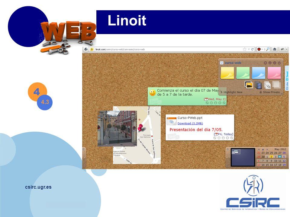Linoit 4 4.3 csirc.ugr.es