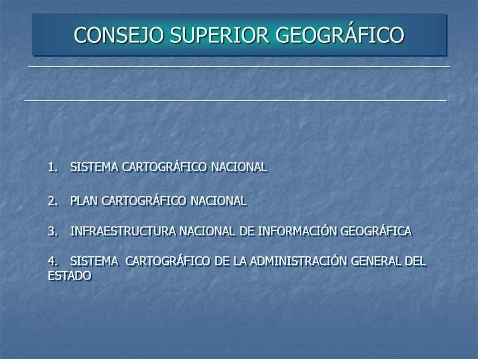 CONSEJO SUPERIOR GEOGRÁFICO
