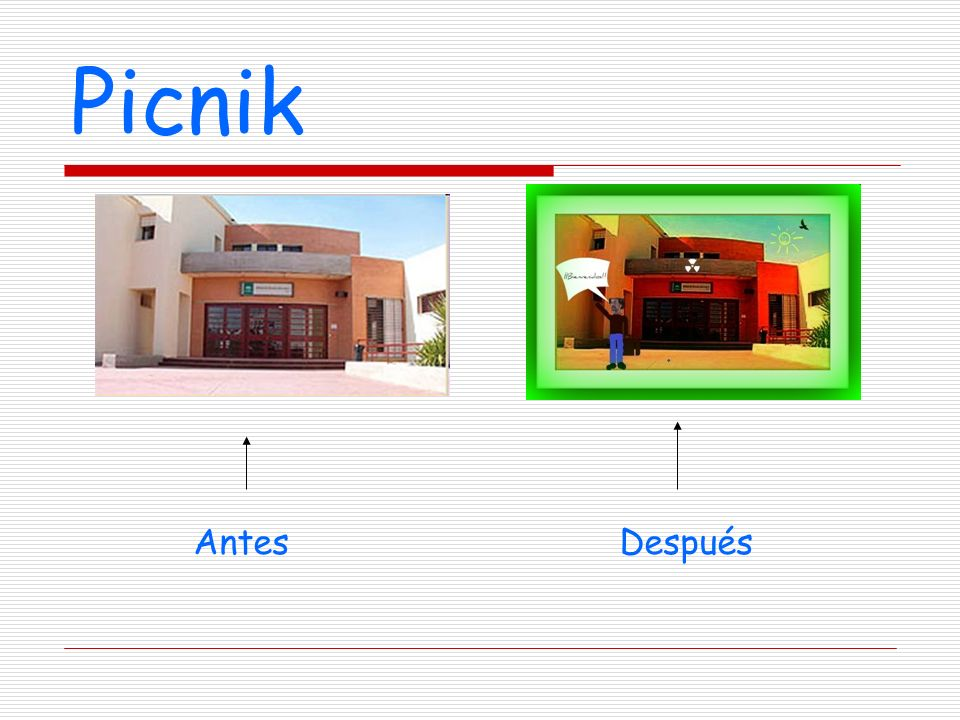 Picnik Antes Después