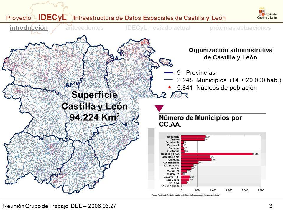 Organización administrativa de Castilla y León