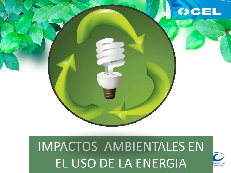 IMPACTOS AMBIENTALES EN EL USO DE LA ENERGIA