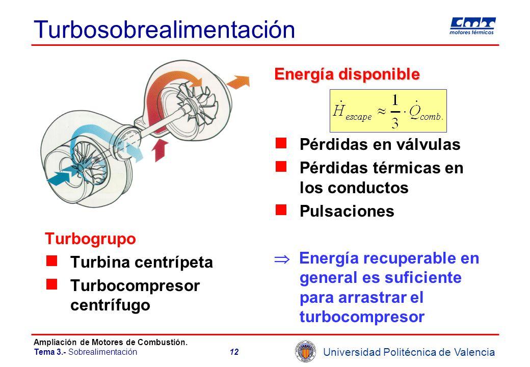 Turbosobrealimentación