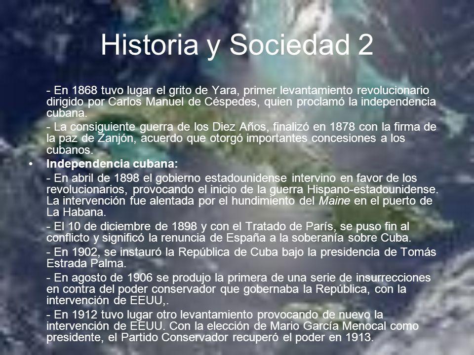 Historia y Sociedad 2