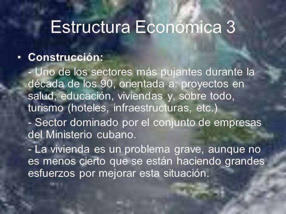 Estructura Económica 3 Construcción: