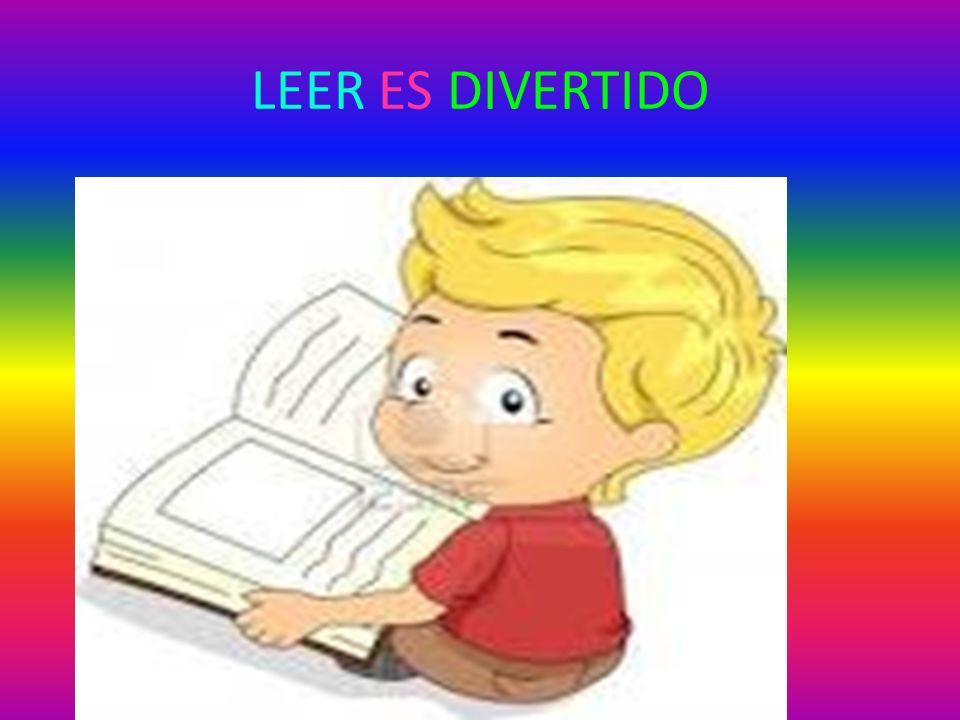LEER ES DIVERTIDO