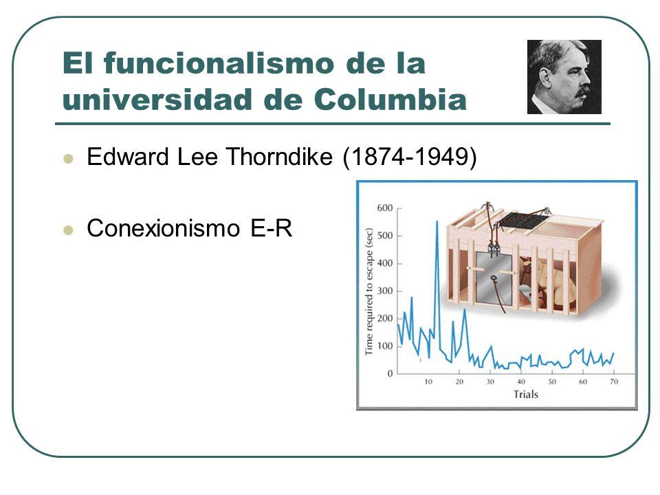 El funcionalismo de la universidad de Columbia