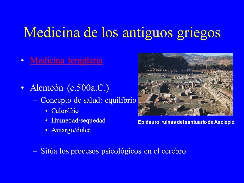 Medicina de los antiguos griegos