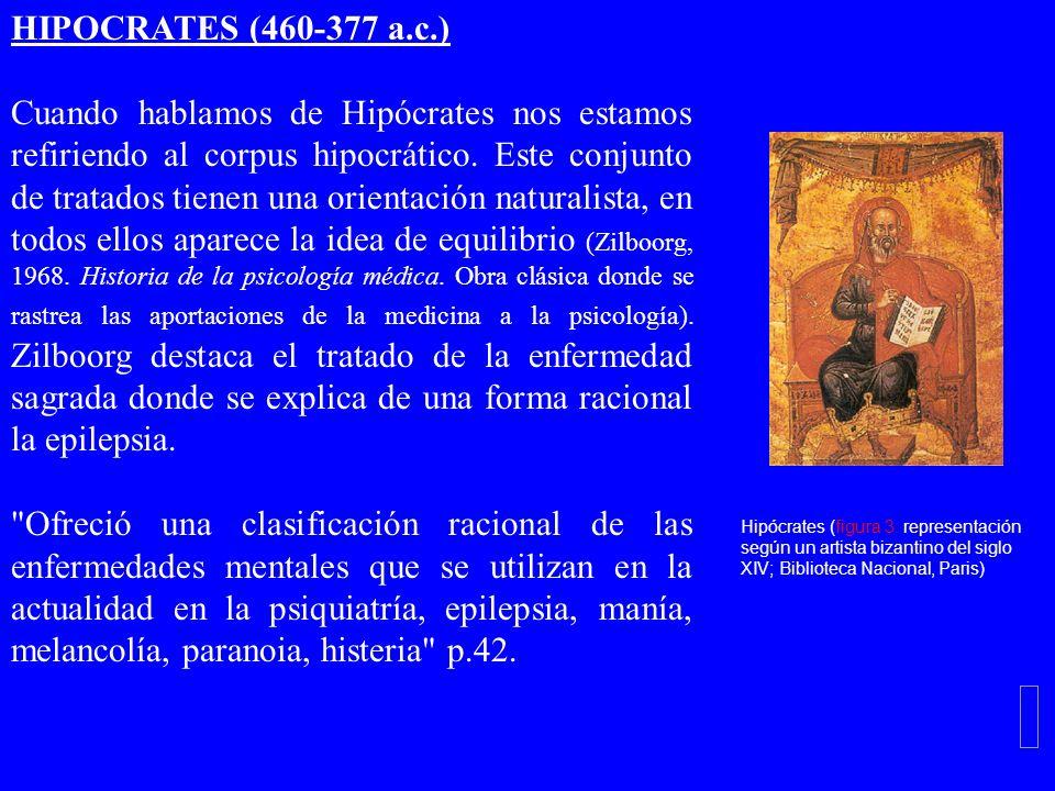 HIPOCRATES (460-377 a.c.)