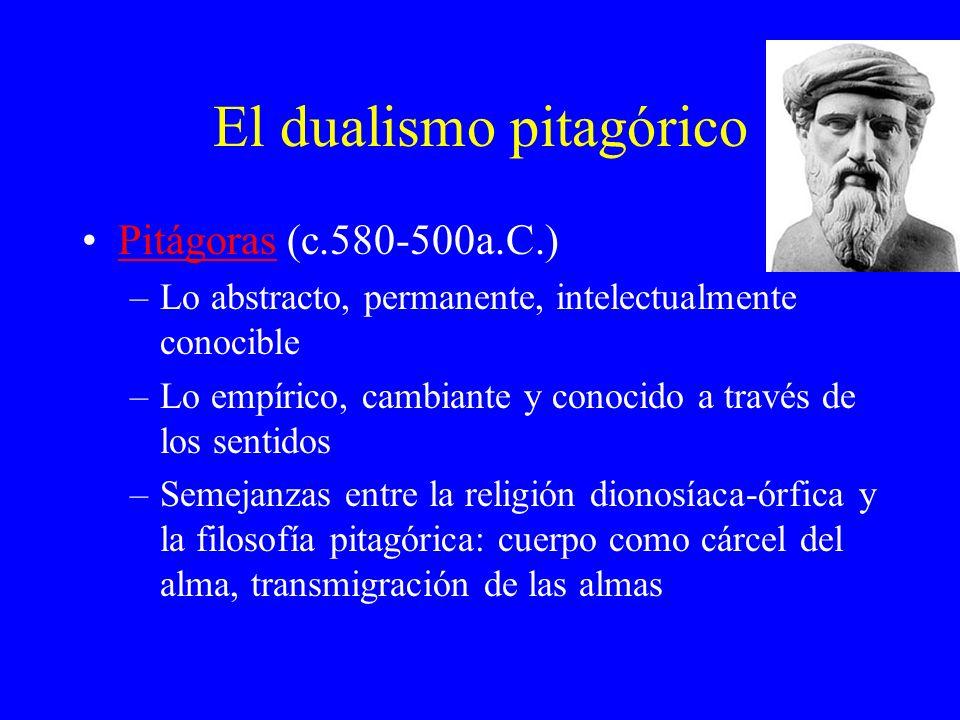 El dualismo pitagórico