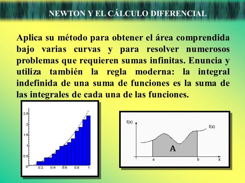 NEWTON Y EL CÁLCULO DIFERENCIAL