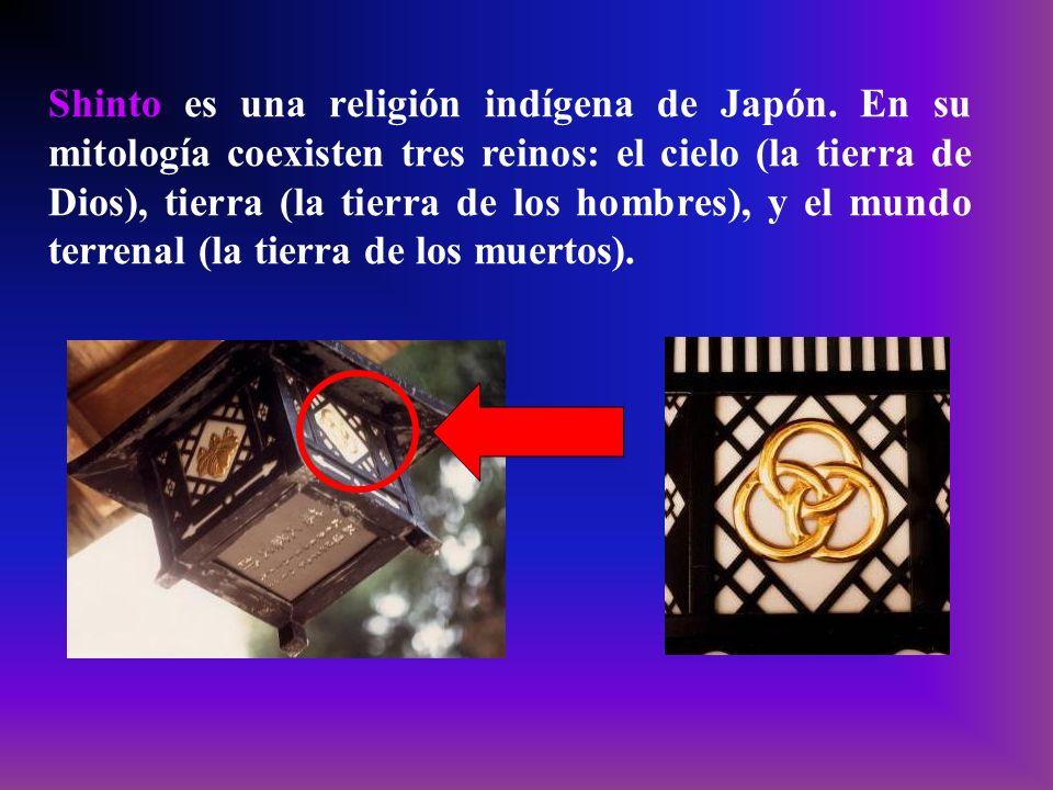 Shinto es una religión indígena de Japón