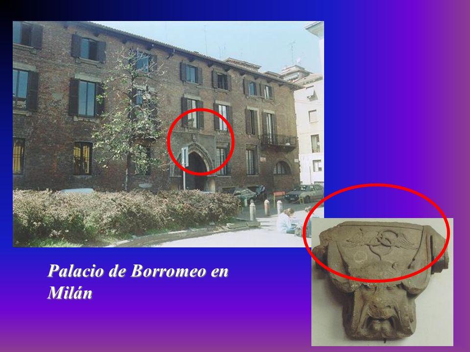 Palacio de Borromeo en Milán