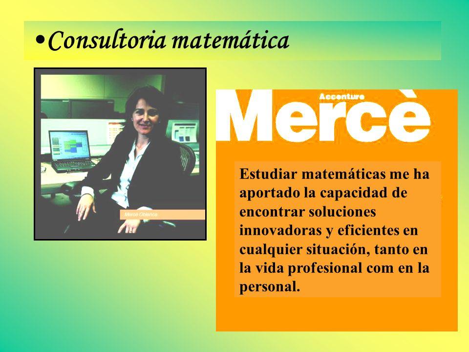 Consultoria matemática