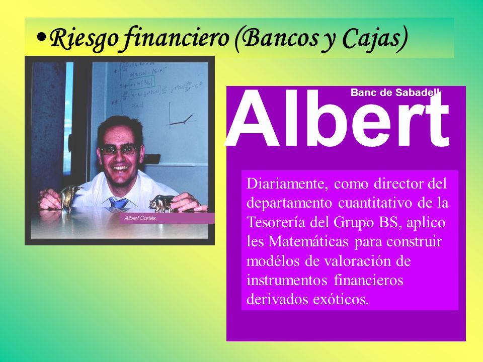 Albert Riesgo financiero (Bancos y Cajas)