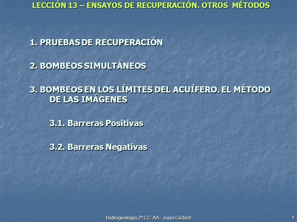 Hidrogeología 2º CC.AA - Juan Gisbert