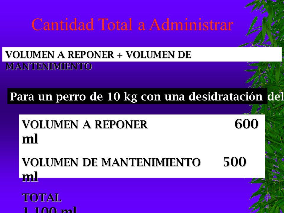 Cantidad Total a Administrar